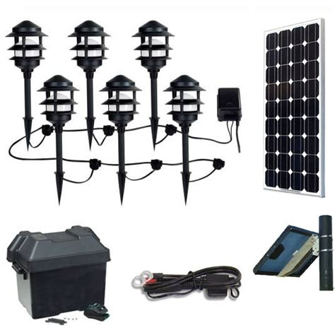 Landscape Lighting System Solar Landscape Lighting Kit