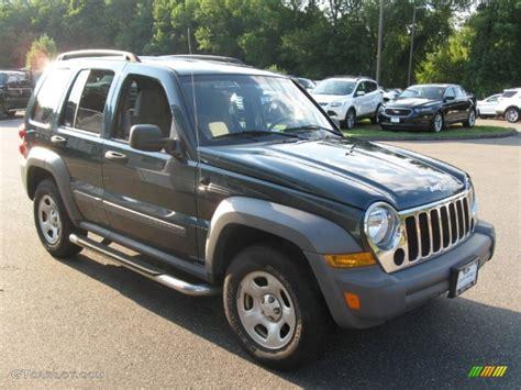 2005 beryl green pearl jeep liberty sport 4x4 69728313 gtcarlot car color galleries