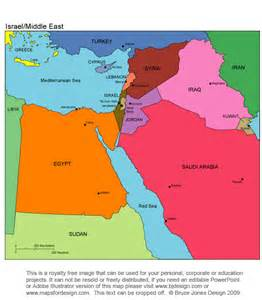 Map Of Middle East Israel by Coloring Map Of Israel 171 Free Coloring Pages