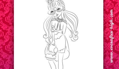 ever after high coloring pages gingerbread house ginger breadhouse coloring page ever after high