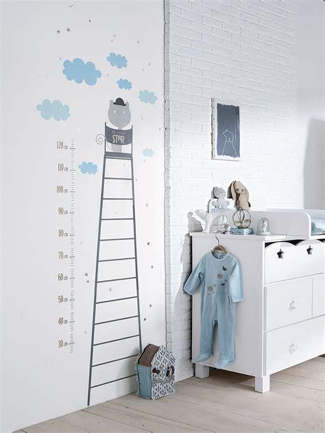 stickers pour chambre bébé garçon chambre gris bleu bebe