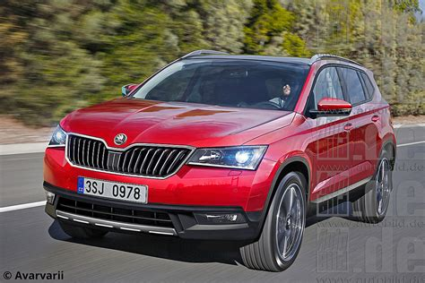 skoda 7 seat suv to premiere at the 2016 motor show