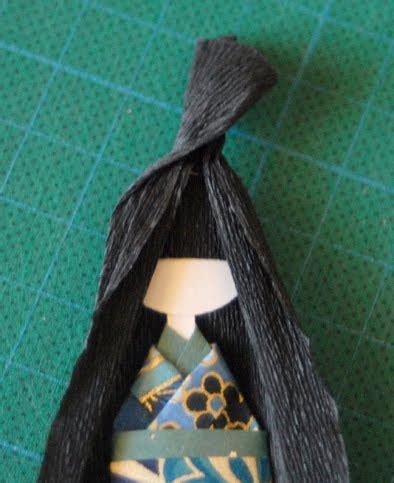 cara membuat origami boneka jepang cara membuat boneka jepang dari kertas origami versi 2