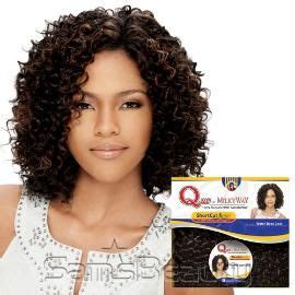 Dejavu Human Hair Blend Weave Short Cut Soft Coil 3 Pcs | human hair blend weave milky way que shortcut series water