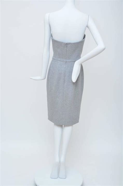 Who Wore It Better Yves Laurent Strapless Grey Dress by Yves Laurent 08 Strapless Dress Seen On