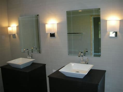 Modern Sconces Bathroom Glass Contemporary Sconces For Bathroom Savary Homes