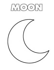 moon coloring pages free coloring pages of m is for moon