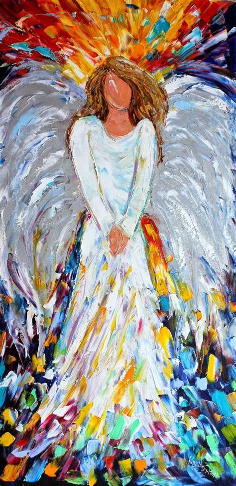 images of christmas paintings karen tarlton original oil painting christmas angel by