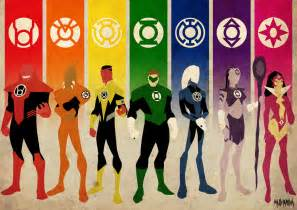 lantern corps colors green lantern on green lanterns batman