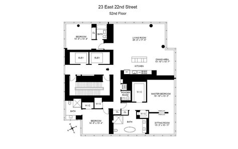 one madison floor plans one madison park 23 east 22nd st nyc manhattan scout