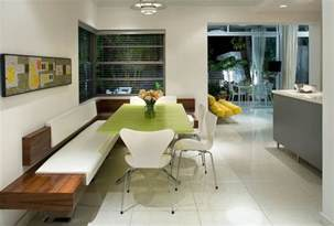 Kitchen Table With Bench Seat How A Kitchen Table With Bench Seating Can Totally Complete Your Home