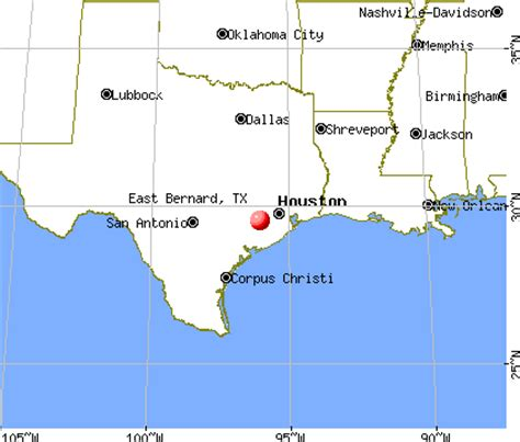 bernie map of texas east bernard texas tx 77435 profile population maps real estate averages homes