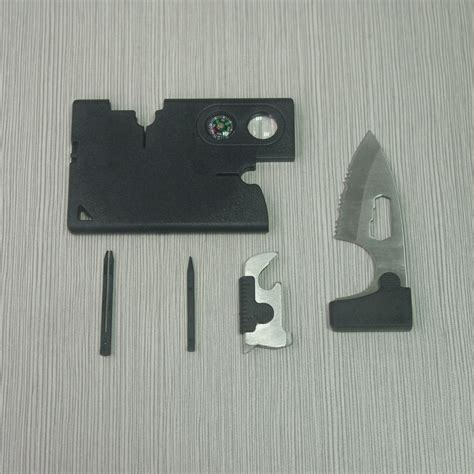 2015 carzor credit card multi tools with tactical knife