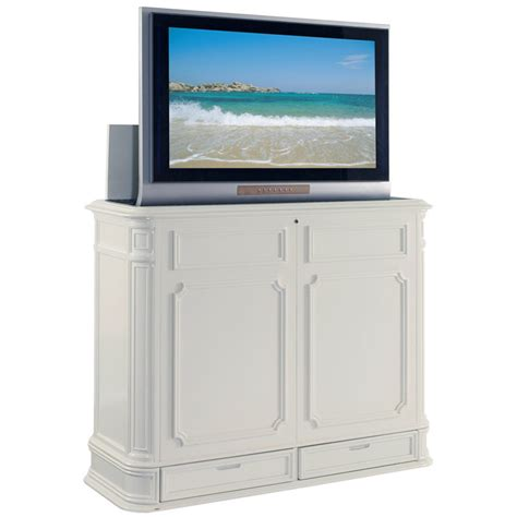 tv lift cabinet at004873w pointe 51 quot flat
