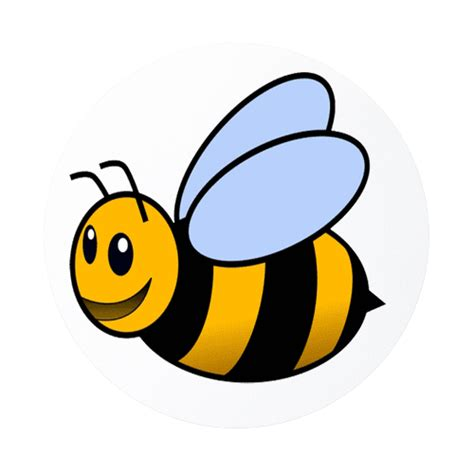 bumble bee rubber st animated bumble bees clipart best clipart best