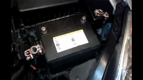2009 hyundai accent battery maintenace and load testing