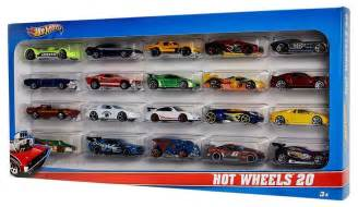Amazon.com: Hot Wheels 20 Car Gift Pack (Styles May Vary