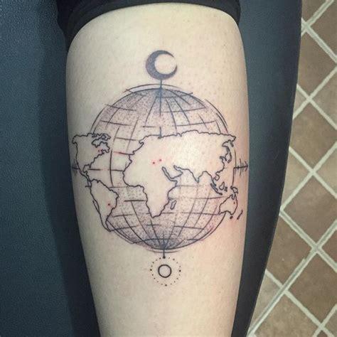 tatouage carte un motif aussi pratique qu esth 233 tique