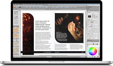 book layout on pages mac istudio publisher page layout software for desktop