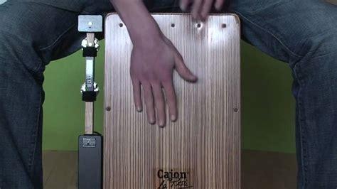 cajon grooves cajon groove with heckstick youtube