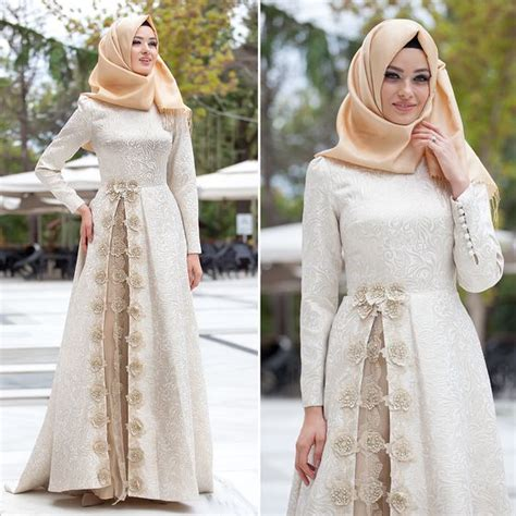 Gamis Dress Muslim 35 tren dress muslim remaja masa kini 2018 simple modern