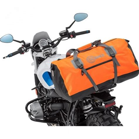 qbag tailbag waterproof   liters orange