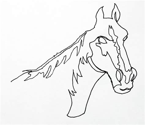 line drawing sketches continuous line drawing