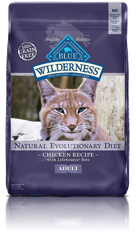 blue buffalo grain free food blue buffalo wilderness grain free cat food chicken recipe 12 pound bag ebay