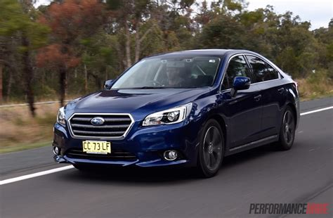 subaru liberty 2015 subaru liberty 3 6r review video performancedrive