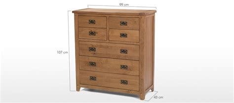 3 drawer chest of drawers oak rustic oak 4 over 3 chest of drawers quercus living