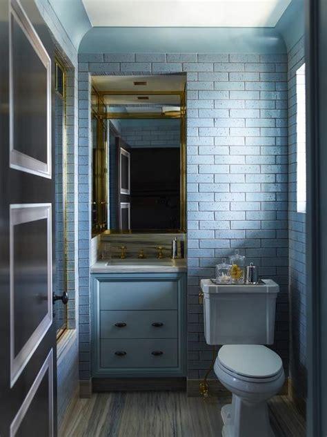 beautiful blue bathrooms