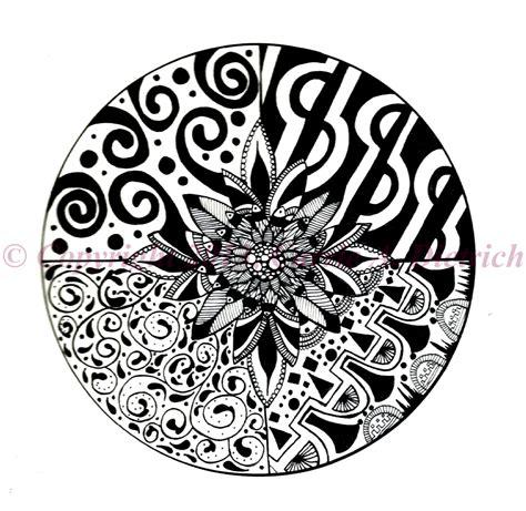 black and white ink patterns black and white art pen and ink flower design illustration