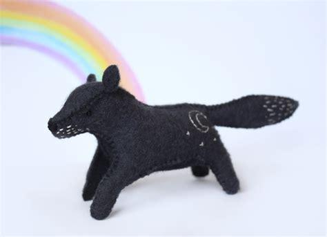 felt wolf pattern felt fox felt dog felt wolf sewing pattern pdf from