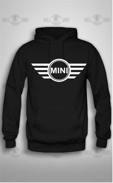 Gildan Mini mini cooper car sign logo hoodie gildan hoodie mini