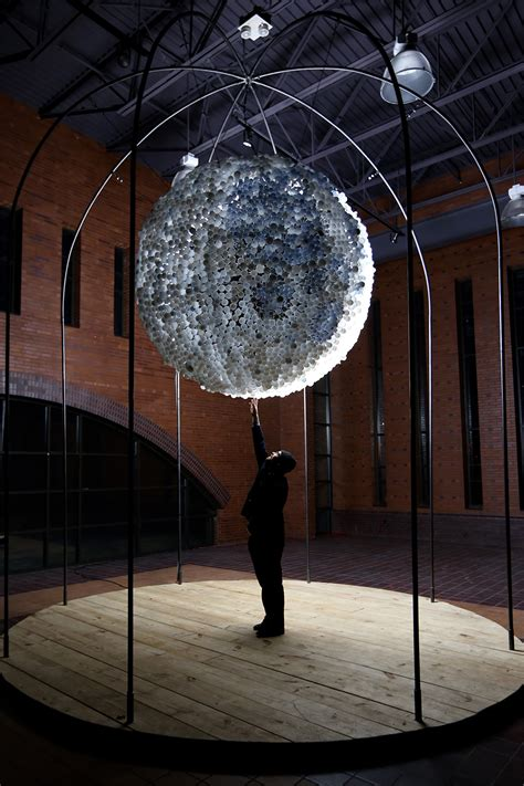 moon  interactive light installation