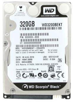 Wdc 500 Gb Blue 2 5 Quot western digital wd5000bekt sata ii 500gb 7200rpm