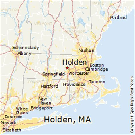 best places to live in holden massachusetts
