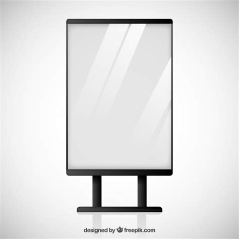 Windshield Mini Vector Sectbill blank billboard vector premium