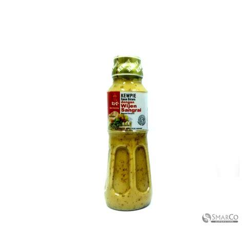 Kewpie Saus Siram Wijen Sangrai detil produk kewpie siram wijen sangrai 200 ml