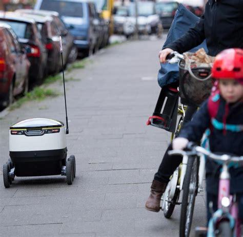 Motorrad Friedensallee Hamburg by Paketroboter Paketroboter 6d9 F 228 Hrt Durch Hamburgs