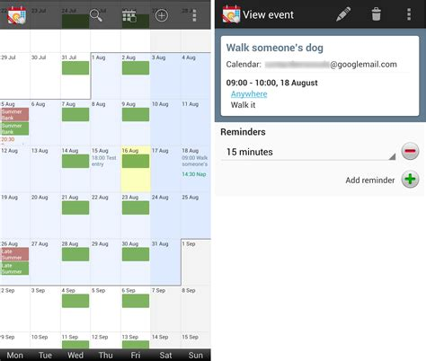 free calendar apps for android 12 of the best calendar apps available for your android smartphone