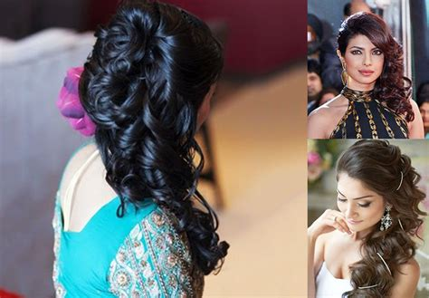 Wedding Hairstyles Side Waves by 10 Indian Bridal Hairstyles For Hair