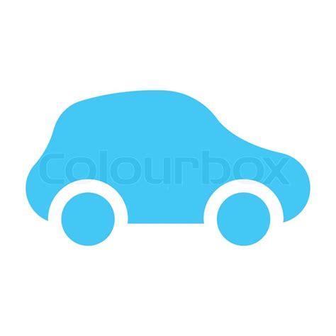 Box House Plans icon car light blue stock vector colourbox