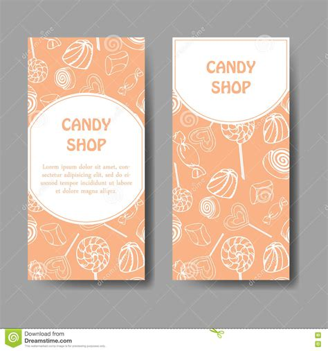 chocolate business card template free vector template for business card with