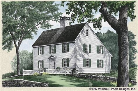 classic new england house plans classic new england saltbox west scituate pinterest