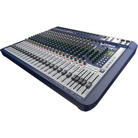 Mixer Soundcraft Fx 16 soundcraft signature 22 22 input mixer with effects
