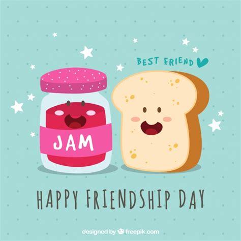 Jam Friendship happy friendship day card