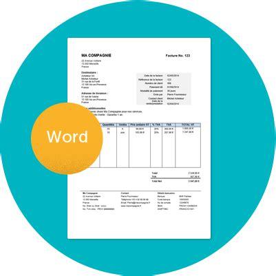 mod 232 le gratuit de facture 224 t 233 l 233 charger sous format word