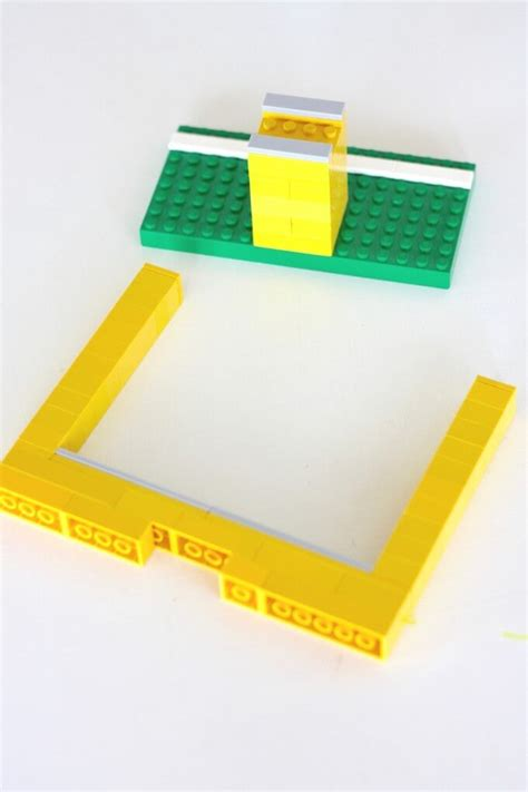 How To Make A Paper Lego - paper football with lego goal posts screen free