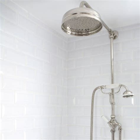 Period style shower   Victorian bathroom makeover   step inside   housetohome.co.uk